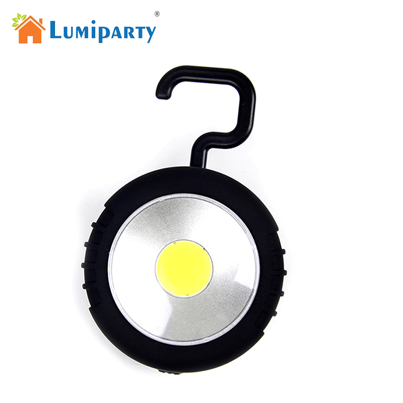 LumiParty Hanging Lamp Mini Pocket Portable Bright LED Lightweight Lanterns Light For Hiking Camping Fishing Emergencies Outages