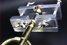 Ustnik ściągacz stop aluminium regulowany ustnik Remover dla trąbka francuski róg puzon instrumenty muzyczne narzędzia tanie tanio SUERTE aluminium alloy 10*11cm