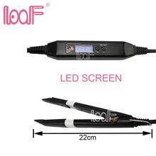 LOOF Профессиональный склеивающий кератин Queratina инструменты для наращивания волос Fusion тепловые соединители машина температура Fusion тепловые соединители