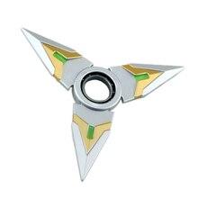 เปิดลูกดอกFidgeted Cubeปั่นของเล่นโรตารีTri-s pinner S Hurikenมังกรใบมีดดาบในมือ