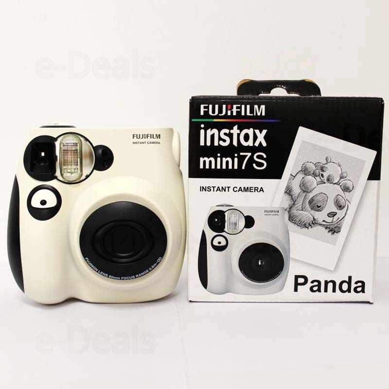 100% أصيلة فوجي فيلم Instax Mini 7s كاميرا فوتوغرافية الفورية ، والعمل مع فوجي Instax فيلم صغير ، واختيار جيد كهدية/هدية