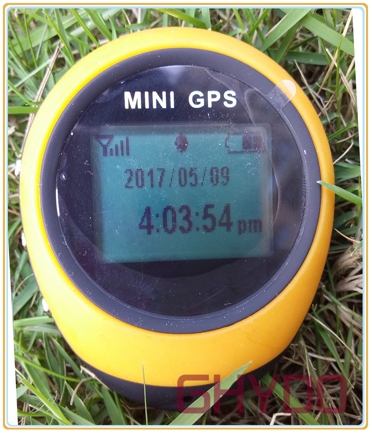 PG03 update Handheld Location Finder Mini GPS Receiver Navigation USB Rechargeable with Compass for Outdoor Sport Travel fish