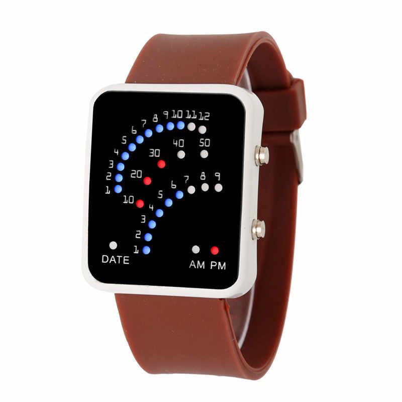 5cf34e4c7949c 2016 Women Mens Watches Futuristic Sport Style Multicolor LED Wrist Watch  Digital Women Wrist LED Lights Display Clock