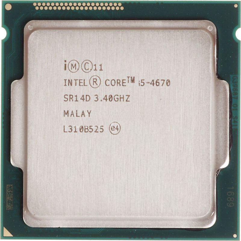 Intel Core i5 4670 3 4GHz 6MB Socket LGA 1150 Quad Core CPU Processor SR14D i5