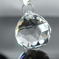 10pcs 70mm Crystal Chandelier Ball Chandelier Faceted Fengshui Balls Free Shipping