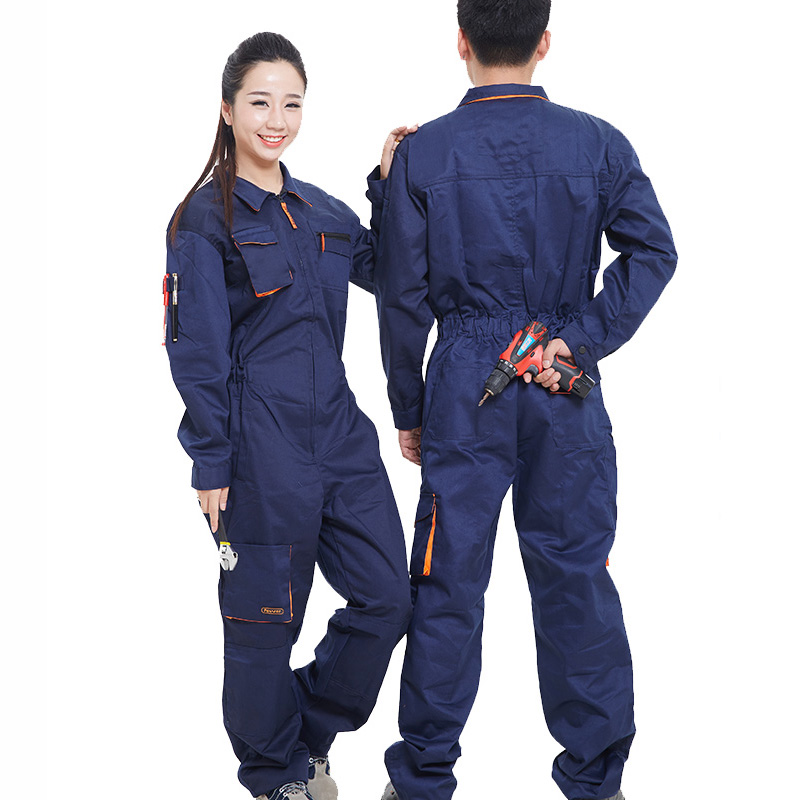 Work Clothing Men Women Long Sleeve Coveralls High Quality Overalls For Worker Repairman Machine Auto Repair Welding Large SizeWork Clothing Men Women Long Sleeve Coveralls High Quality Overalls For Worker Repairman Machine Auto Repair Welding Large Size