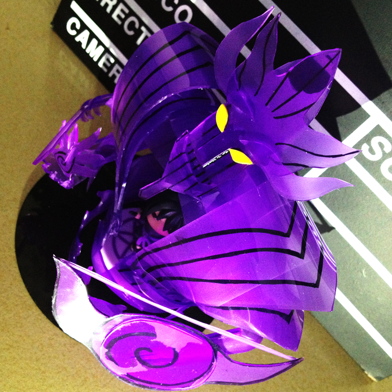 MODEL FANS instock NARUTO 13cm q version Sasuke Susanoo Tempestuous God of Valour The second form GK TPU made figure toy bride of the water god v 3