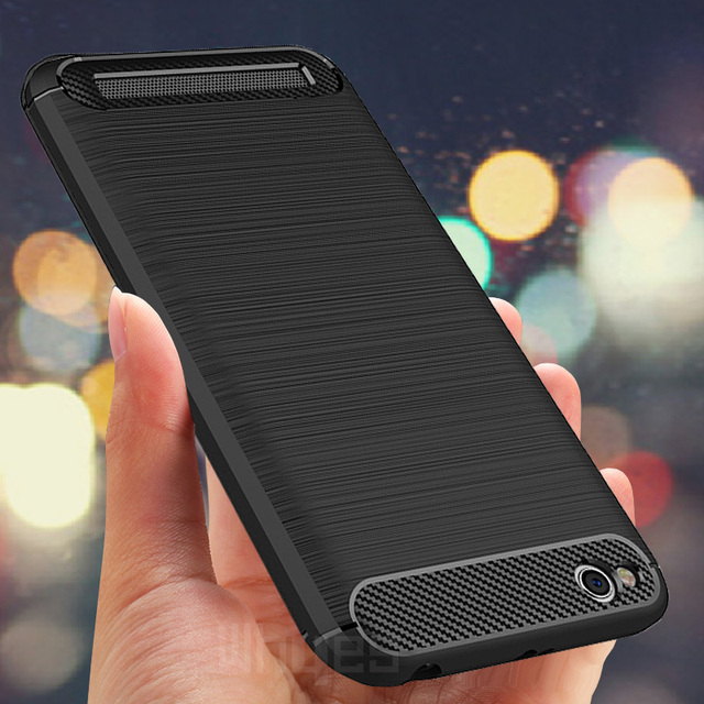 For Xiaomi Redmi 5A Case Silicone Carbon Fiber Heavy ShockProof Full Protector Fitted Soft TPU Case For Xiaomi Redmi 5A Cover