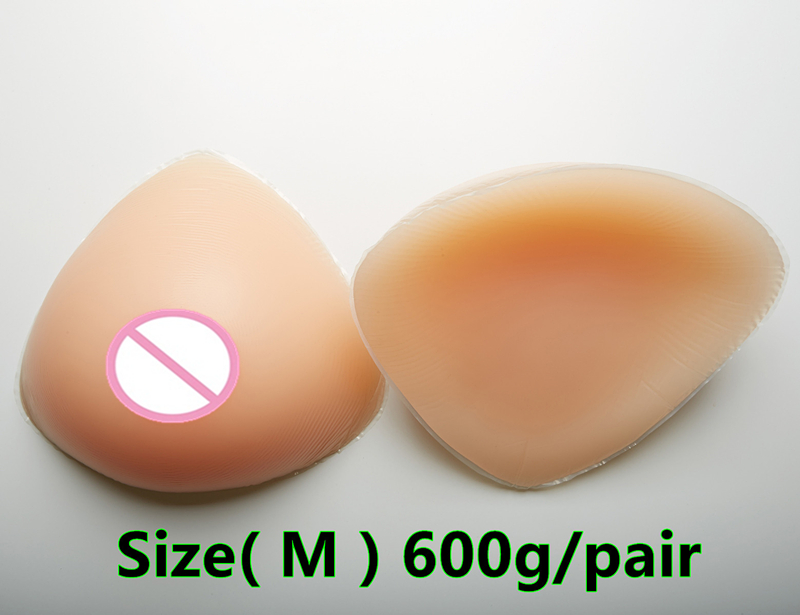600g/pair B cup Transgender Silicone Breast Forms Fake Boobs false breasts Mastectomy Silicone Breast Prosthesis realistic silicone breast forms prosthesis mastectomy for surgery woman false fake boobs