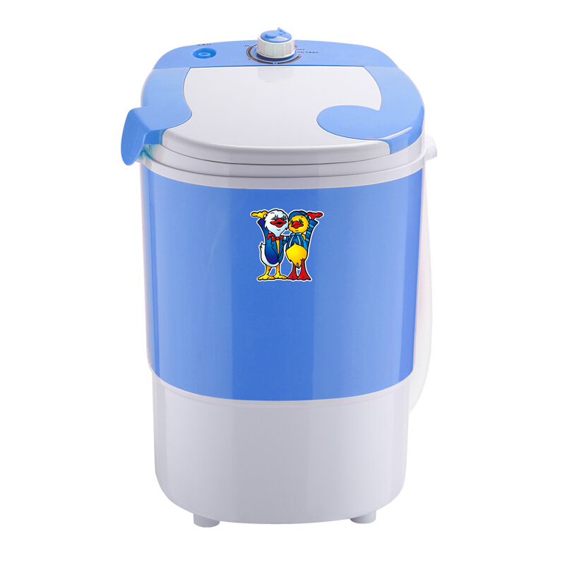 Washer and dryer Mini Washing Machine Small Single Cylinder Fully automatic Baby and Child  washer and dryer Washing Machines     - title=