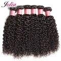 Jolia cabelo kinky curly virgem cabelo filipino 7a não transformados filipino virgem do cabelo encaracolado kinky extensões de cabelo encaracolado tecer humano