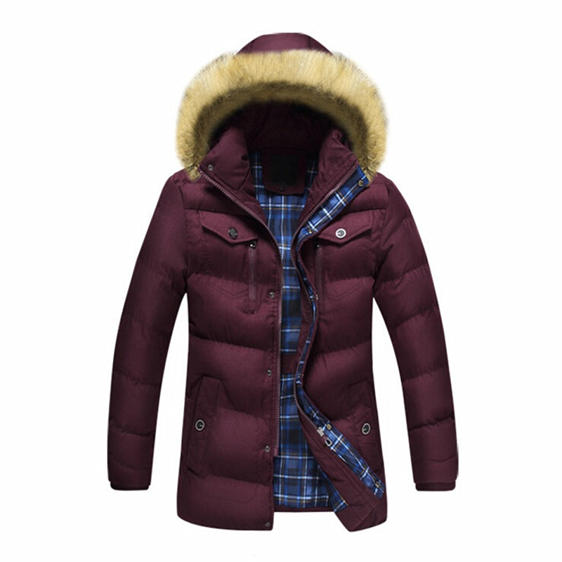Men Winter Casual New Hooded Thick Padded Warm Jacket Zipper Slim Men Long Jacket Coats Men Parka Outwear Plus Size XXXL мужской пуховик al men s padded jacket winter warm hooded jacket