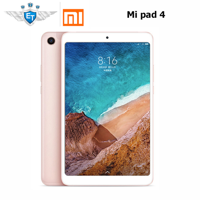 "Original Xiaomi Mi Pad 4 Tablets 4 8"" 16:10 Screen Snapdragon 660 AIE Core 13MP Back Camera AI Face Wifi LTE 4GB 64GB Tablet 4"