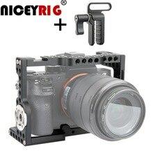 Niceyrig держатель dslr Камера клетка для sony A7MIII a7m3 A7RIII a7r3 A7RII a7r2 A7SII a7s2 A7II A7S A7R A7 для однообъективной цифровой зеркальной фотокамеры Камера буровая установка