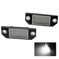 2pcs Lot No Error Car LED Number License Plate Light Lamp For Ford Mondeo Focus MK2