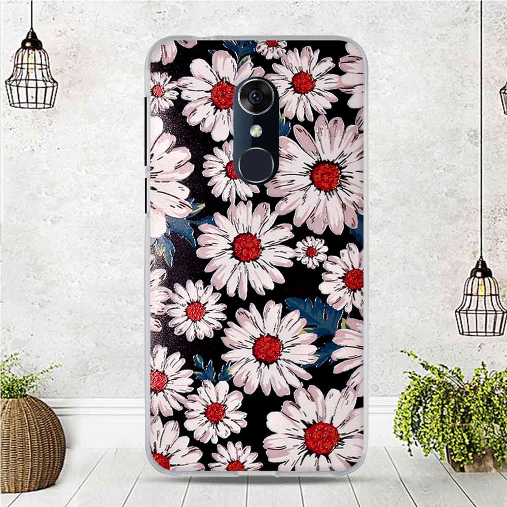 Case Fits For Alcatel 3 5052Y 5052D 5.5 Inch Case For Alcatel 3L 5034D 5.5 Inch Cover Fundas Coque Silicone 3D Soft Back Cover