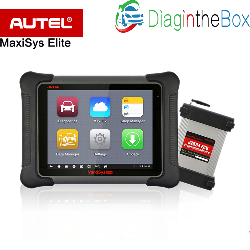AUTEL MaxiSys <font><b>Elite</b></font> Update of MS908P <font><b>ms908</b></font> PRO 1 years Free Update Universal Auto Scanner Diagnostic J2534 ECU Programming tool image
