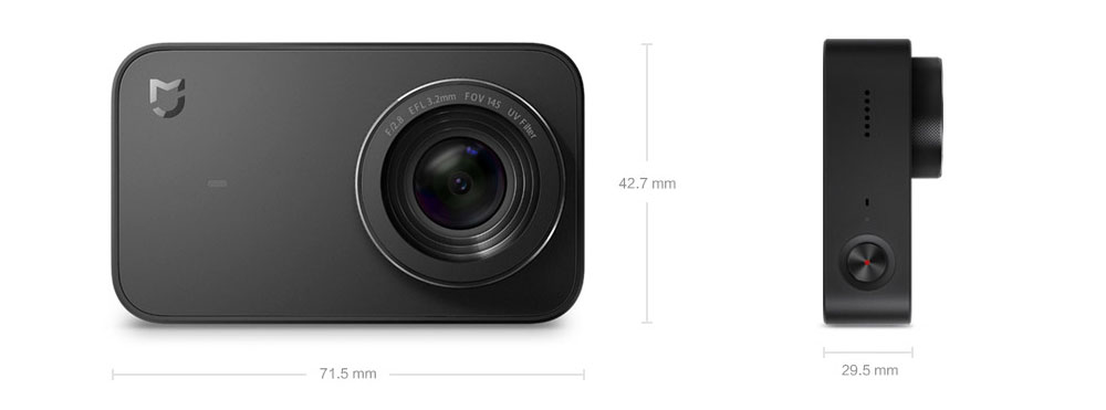 Original Xiaomi Mijia Mini Action Camera Digital Camera 4K 30fps Video Recording 145 Wide Angle 2.4 Inch Touch Screen Sport Smart App Control ok (21)