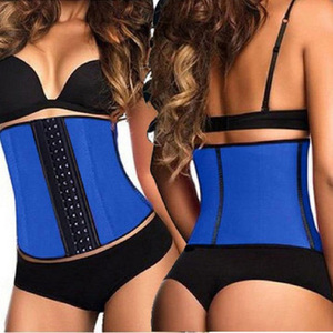 Image 3 - Faja espartilho 100% látex cintura formadora por atacado mulheres cintura cincher emagrecimento shaper shaper 10pcs cintura shaper corpo látex