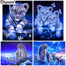 Dispaint Full Square/Round Drill 5D DIY Diamond Painting Animal tiger landscape 3D Embroidery Cross Stitch 5D Home Decor Gift dispaint full square round drill 5d diy diamond painting animal tiger sceneryembroidery cross stitch 3d home decor gift a11463