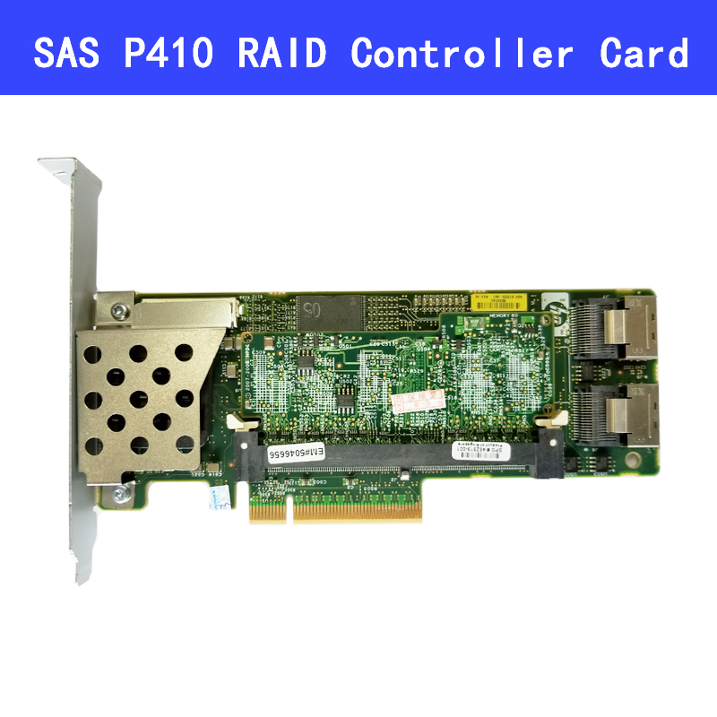 462919-001 013233-001 Array SAS P410 RAID Controller Card 6Gb PCI-E With 512M/256M/1G RAM