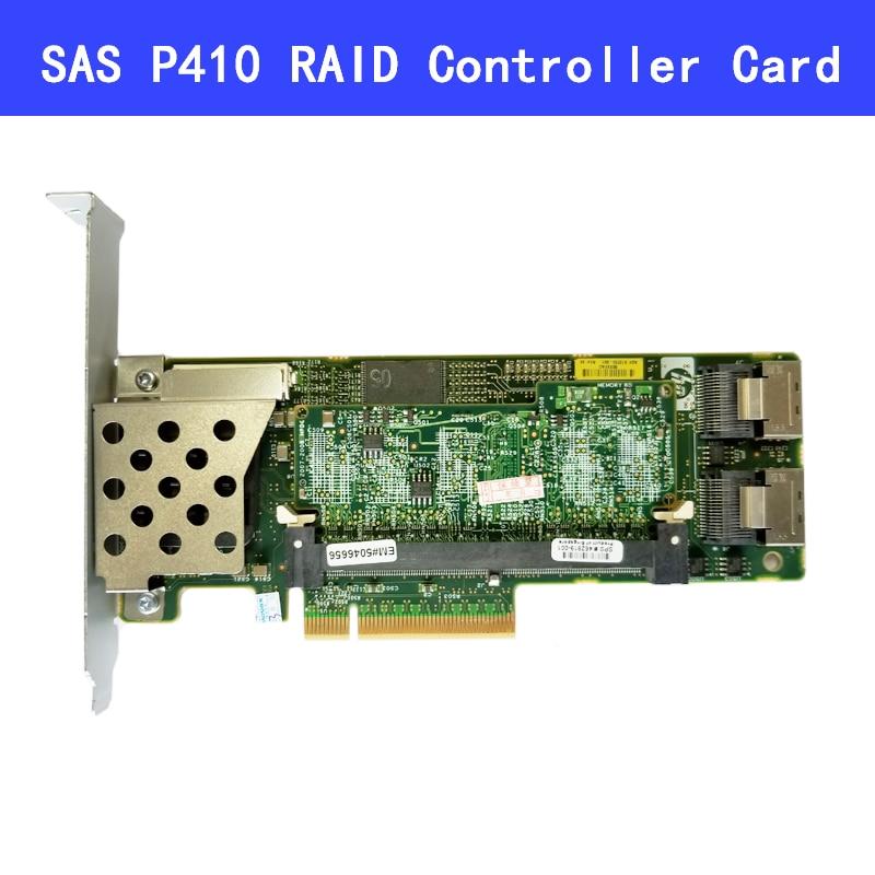462919-001 013233-001 Array SAS P410 RAID Controller Card 6Gb PCI-E With 512M/256M/1G RAM
