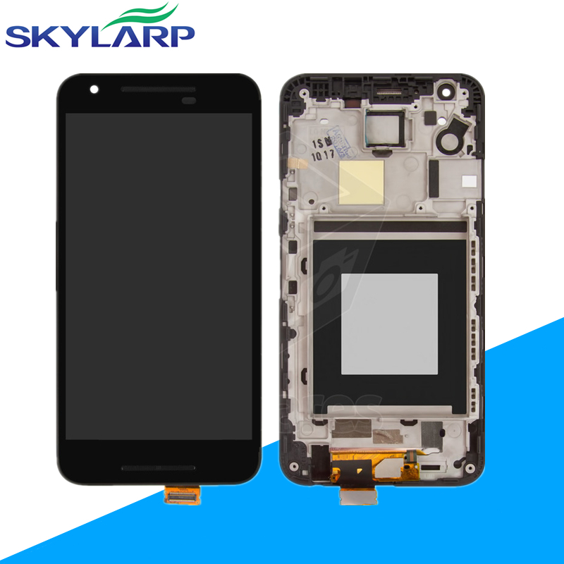 LCD+Touchscreen for LG Nexus 5X with front panel Full LCD Display+touch screen+free shipping