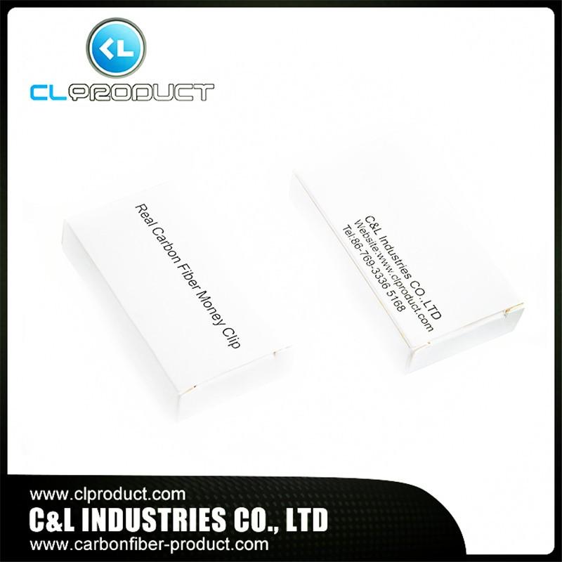 Carbon fiber money clip Packing_