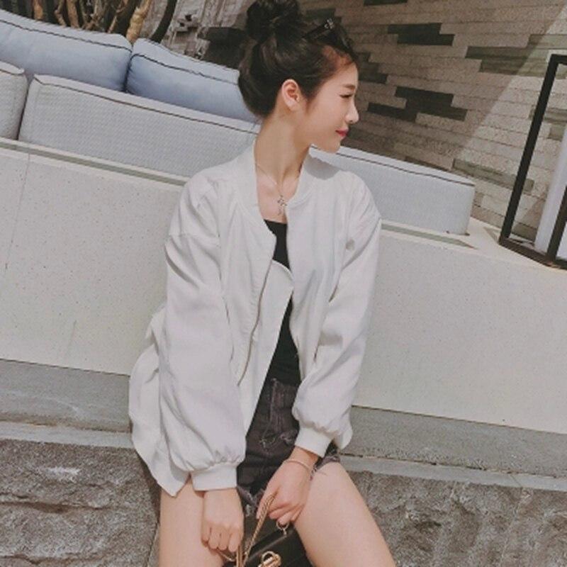 2019 Bomber Jackets Women New Women's Basic Jacket Fashion Windbreaker High Quality Outwear Female Coat