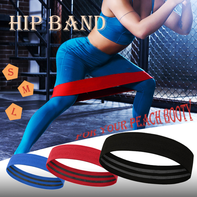Hip Circle Resistance Bands Booty Elastic Bands Exercise For Thigh Hip Glutes Bridge Fitness Workout Resistance Bands No Curling