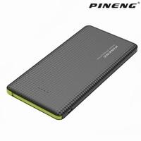 Pineng Power Bank For Xiaomi Mi Ultra Slim 10000mAh Powerbank Portable External Battery For IPhone 5