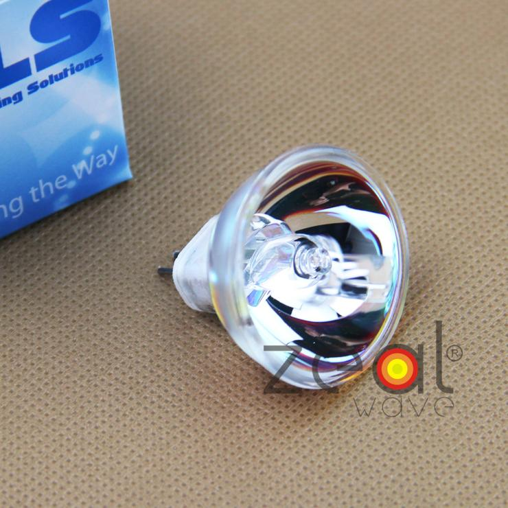 2pcs/Lot For KLS JCR 12V100WH10 Halogen Lamp Long Life Dichroic Reflector Microscope Fiber Optic Light JCR12V100WH10 Bulb kls jcr 9 5v55w kls jcr 9 5v55w japan halogen lamp 9 5v 55w reflector photometer bulb hunter spectrphotometer