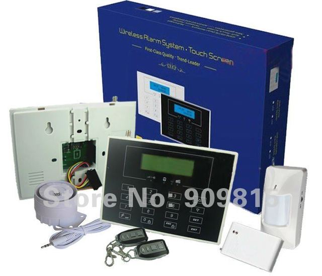 Smart Economic GSM Secutiy Home Alarm System Wireless Type SK-WG16 WIth 10 Door/Window Sensors SK-G16-2
