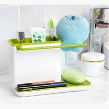 Fashion 21CM Creative Multipurpose Kök Förvaringshållare Hylla Finisher Tvätt Svamp Rengöring Tillbehör Läckage Förvaring Hylla