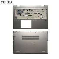 Laptop silver case for HP Probook 650 G4 Palmrest Upper cover/Bottom base cover L09602 001 6070B1231601