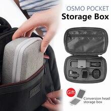 Osmo Cep Depolama Taşıma Çantası Deprem Direnci Anti-sonbahar Taşınabilir Seyahat Kutusu için DJI OSMO CEP El Gimbal