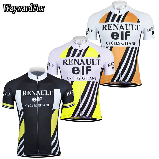 NEW summer men s cycling jersey classic Retro cycling clothing bike wear  maillot ropa ciclismo bicycle top short sleeve jerseys 02d21a3f7