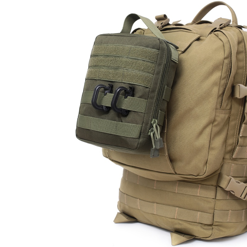 2019 New  Outdoor EDC Molle Tactical Pouch Bag Emergency First Aid Kit Bag Travel Camping Hiking Climbing Medical Kits Bags