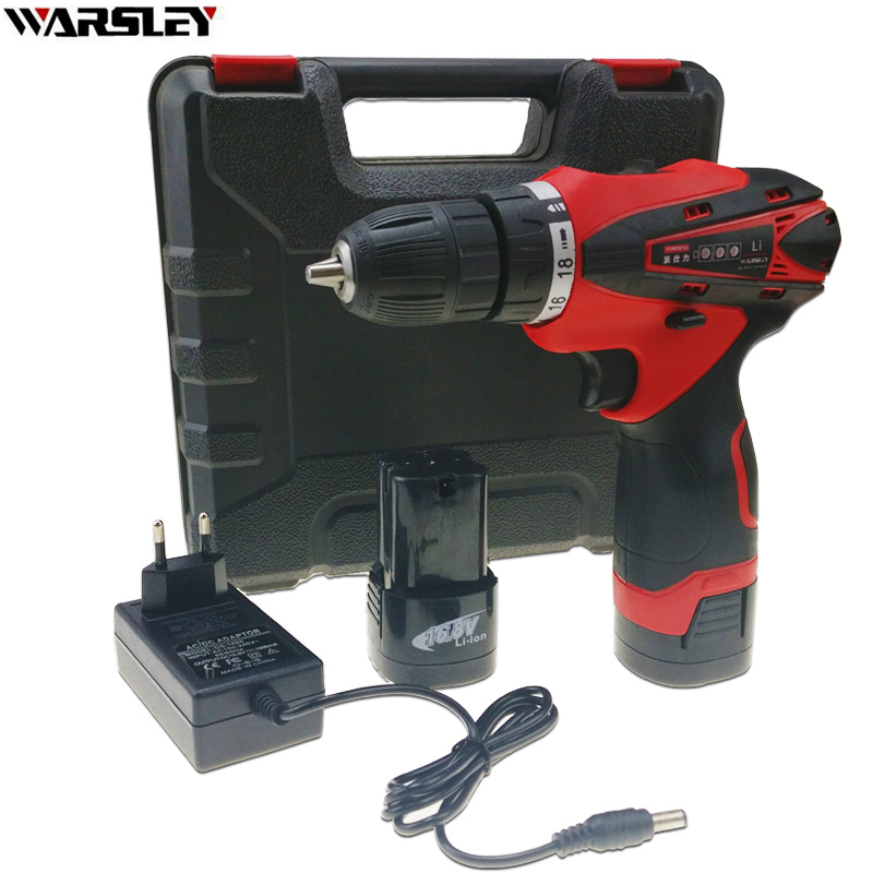 16.8V power tools electric drill Screwdriver Electric Cordless Drill Like Speed Dremel Mini Drill EU plug New style 2 battery new adjustable dc 3 24v 2a adapter power supply motor speed controller with eu plug for electric hand drill