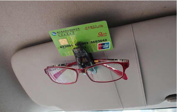 Auto Accessoire Zonneklep Zonnebril Bril Clip Ticket Houder Stand voor Audi A1 A2 A3 A4 A5 A6 A7 A8 q2 Q3 Q5 Q7 S3 S4 S5 S6 S7 S8