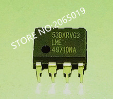 Nouvel amplificateur 2 pièces LME49710 LME 49710NA amplificateur opérationnel DIP 8 de LME 49710NA