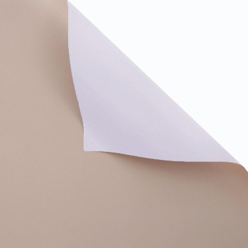 60 см* 10 м/рулон конфеты цвет цветок оберточная бумага Роза свадебная бумага для украшения на рождество упаковка букета материал - Color: S