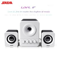 10PCS Wired Mini Portable Combination Speaker Laptop Desktop Computer Mobile Phone Column Bass Cannon 3W PC Speakers