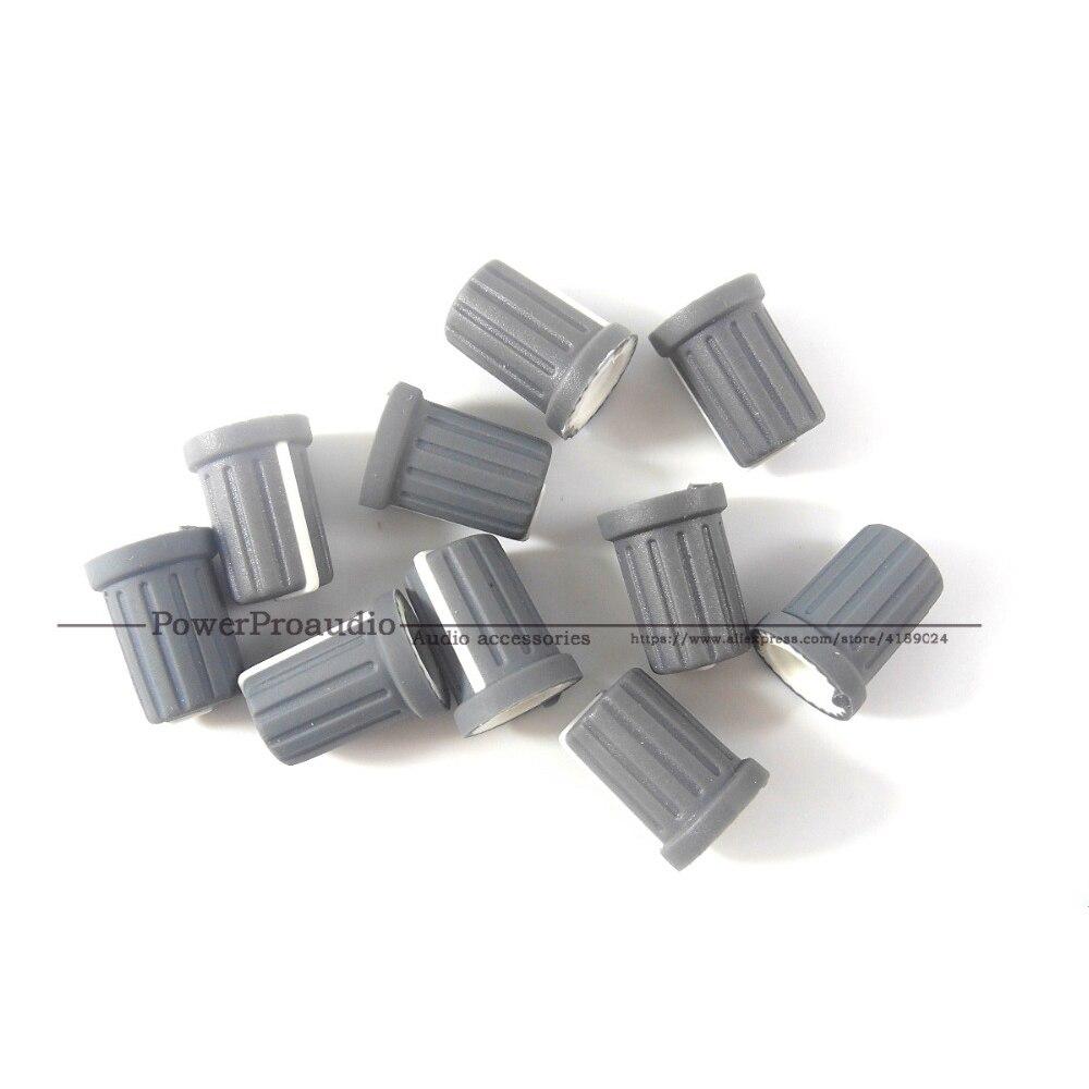 10PCS/LOT OEM Knob For Pioneer TRIM DJM800, DJM900, DJM2000 Spare Part DAA1204 Gray Color