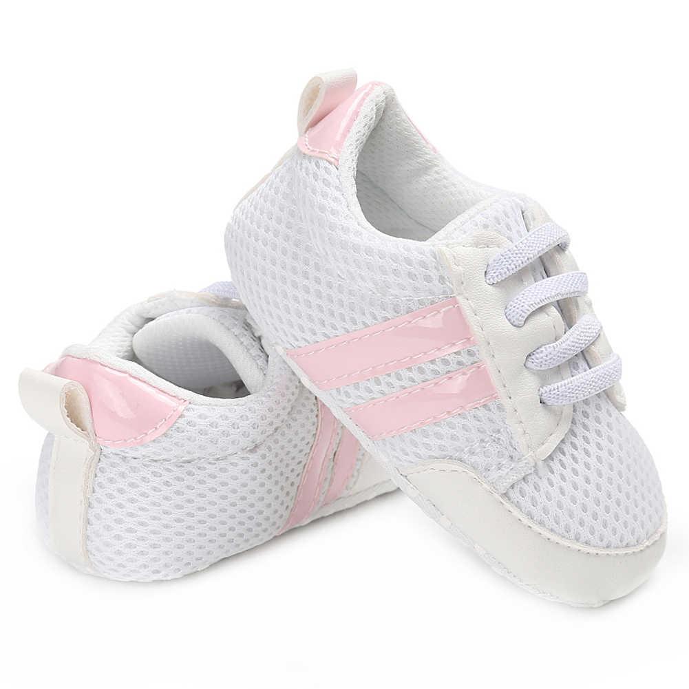 8d3b43a7 ... Bebé Zapatos casuales para niño niña Zapatillas recién nacido bebé  zapato Tenis Infantil Niño mocasines poco ...