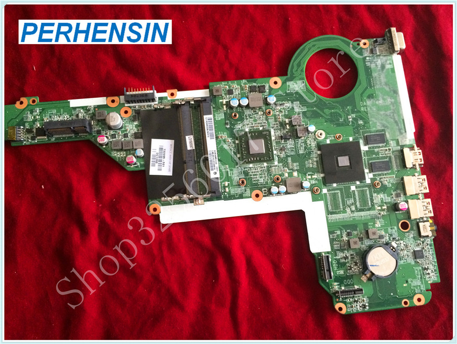 For HP For PAVILION 15-E 15Z-E laptop MOTHERBOARD A6-5200M 2GHz CPU 722205-501 DA0R76MB6D0 NON-Integrated  100% tested good 762526 501 main board for hp pavilion 15 p day22amb6e0 laptop motherboard ddr3 am8 cpu