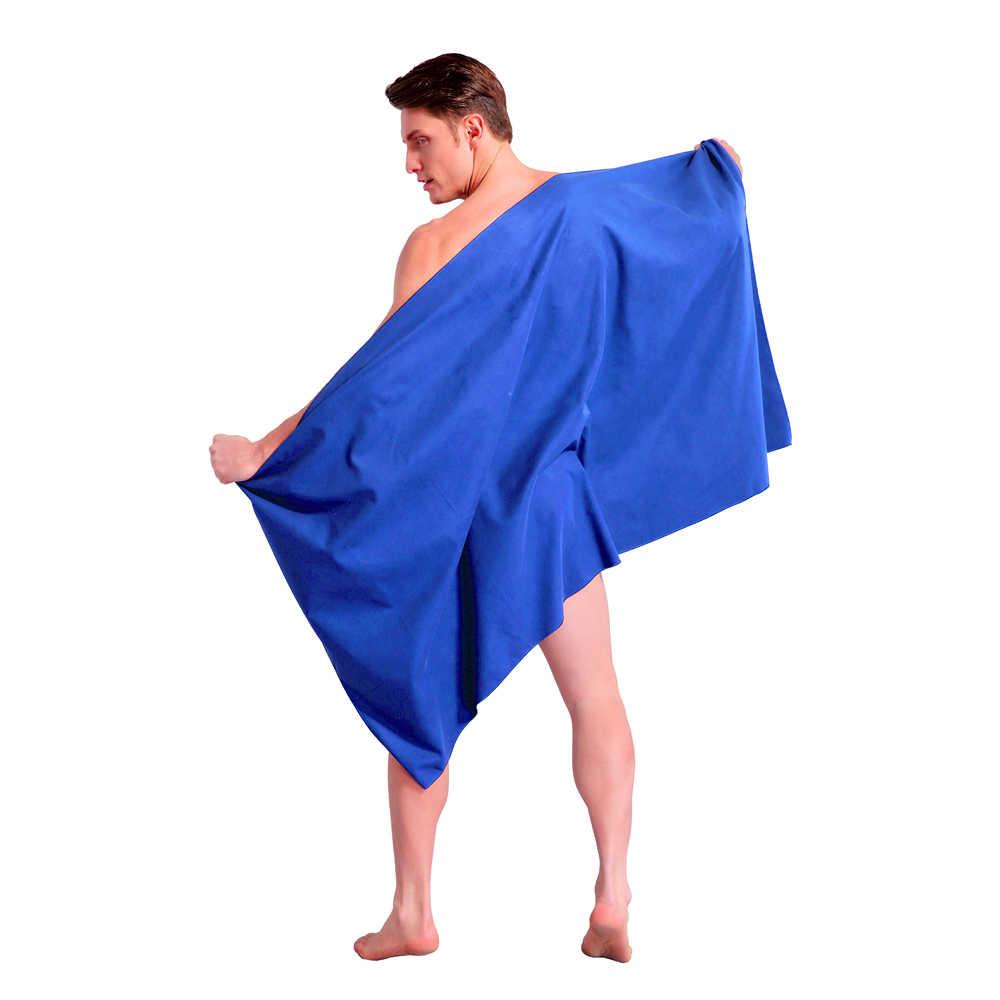 2 stks/set Zipsoft microfiber reizen handdoek zachte huid quick dry Super absorberende Perfecte Strand handdoeken gym zwemmen yoga Kerst