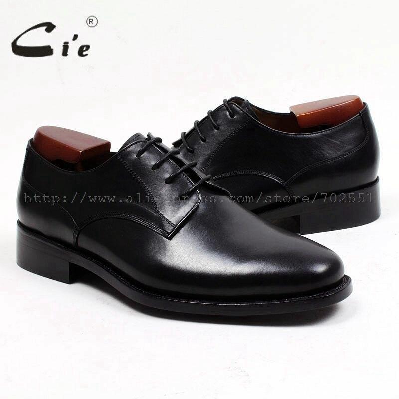 Pé Sola Handmade Bespoke Respirável Do D147 Derby Couro Cie Liso Sapato Personalizado Redondo Genuíno Dedo De Negócios Homens Dos Bezerro Puro Escritório xOwwBqdz5