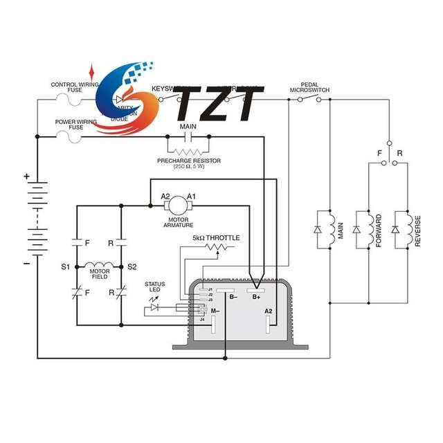 motor controller wiring diagram motor repalcement parts and diagram