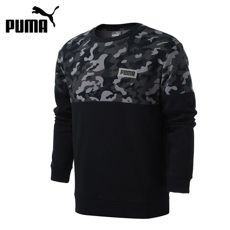 Original New Arrival PUMA AOP Rebel Crew, FL Men's Pullover Jerseys Sportswear